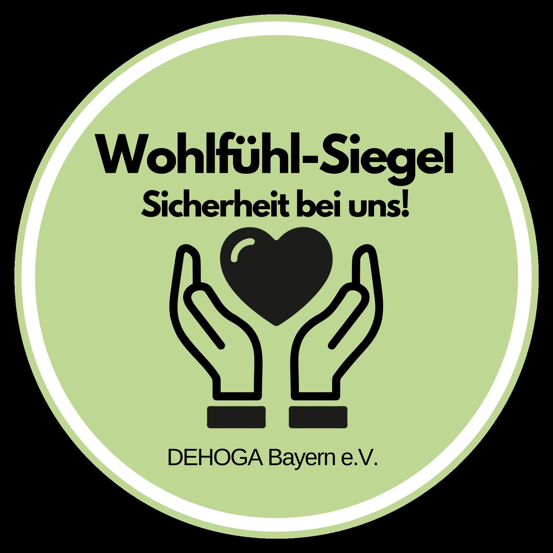 Wohlfuehlsiegel der DEHOGA Bayern
