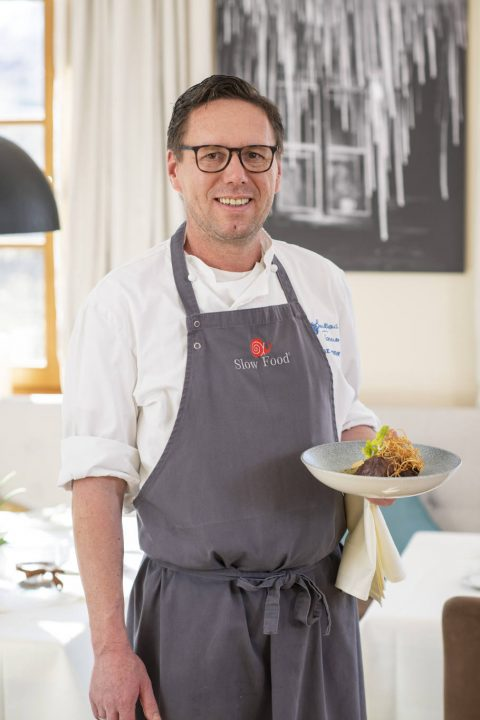 Franz Tanner, der Chefkoch im Haus.